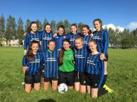 CUFC U16 Girls Corrib Celtic Shield finalists 25 Sept 2016