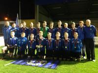 CUFC U15s are 2014 Div 1 Cup Winners