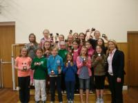 U10 Girls League Winners Presentation