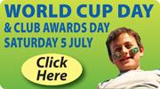 CUFC World Cup Day this Sat 5 July!