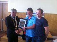 Anthony Gilligan receives Special Merit Award 2012