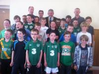 Boys U11s at Club Awards Day 2012