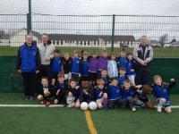 Craughwell U9 team March 2012