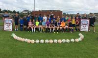 Galway United Junior Academy at CUFC June 2017