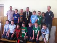 Boys U12s at Club Awards Day 2012