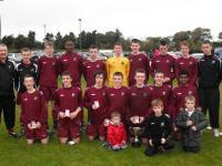U15 Cup Final-Mervue Utd 2-1 Moyne Villa