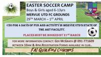Easter Soccer Camp 2016