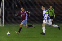 Barry McEntee v Monaghan Utd