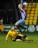 Dave Goldbey v Shamrock Rovers