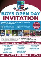 Boys Open Day 2018
