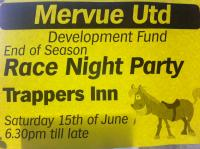 Race Night Sat 15th June