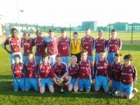 U14 A League Winners 2013