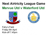 Mervue Utd v Waterford Utd 06.04.12