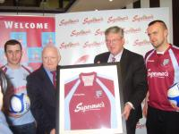 Supermacs Sponsorship Launch