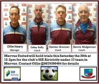 U17 Open Day/Trials