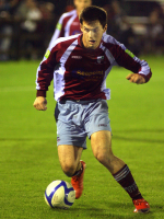 Pat Hoban v Monaghan Utd