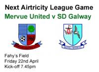 Mervue Utd v SD Galway 22.06.12