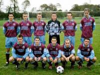 The first under 21 team 2003