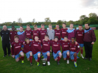 Under 16 League Winners 2012