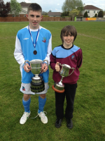 Ryan & Ronan Manning with Connacht Cups