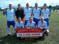 Derek Crowe 6-A-Sides 2009 Runners Up