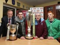 Airtricity League Trophies Visit