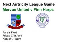 Mervue Utd v Finn Harps 27.04.12