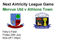 Mervue Utd v Athlone Town