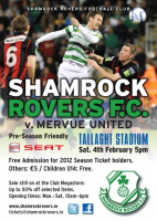 Shamrock Rovers Friendly 04.02.12