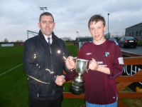 Conor Melody Under 15 League Cup