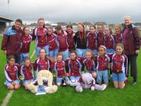 U-12 Girls Cup Winners 2014