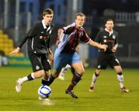 Mike Collins v Shamrock Rovers