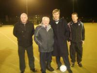 John Delaney Visits Fahys Field