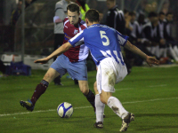 Jason Molloy v Monaghan Utd
