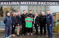 Ballina Stephenites GAA Club with 2018 Club Sponsors Ballina Motor Care