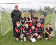 St Mary's U8A Team - Winners
