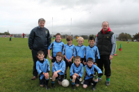 Bonniconlon U8B team with managers Gerry Sweeney and Paschal Tuohy who competed in the U8B Ballina Stephenites Shield