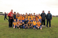 O€™Hora Memorial - Cup Runners up. Knockmore U10B team with managers Shane Sweeney, Sean Bourke and Jason Ruane