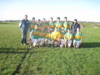 Ardnaree U16 team who competed in the Beenie Murphy Memorial Tournament