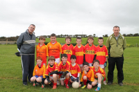 O€™Hora Memorial Cup - Winners:  Castlebar Mitchells U10B Team with managers Bernard Treacy and Pat Waldon.