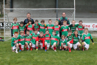 Ballina Stephenites U10B team with managers, John Murray and Shane McCann who competed in the U10B  OHora Memorial Cup
