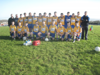 Knockmroe U16 team who competed in the Beenie Murphy Memorial Tournament