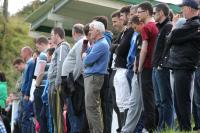 Some of the attendance at the Gweedore Area Final between Cranford United and Glenea United at Cranford Park today