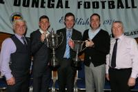 Double Winners pictured with Brian Mc Cormick, John Joe Mc Cafferty and Jimmy Haughey