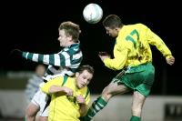 Gweedore United v Rathmullan Celtic in the Ulster Junior Cup 2014