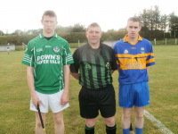Ballincolig and Grenagh u21 Captains.