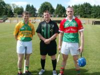Cloughduv and Ballinora Captains.