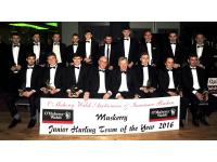 Muskerry Junior Hurling Team of the year