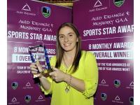 Rhona Ni Bhuachalla Septerber Award Winner