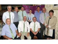 Aoife Murray with Muskerry Board and Awards Committee members